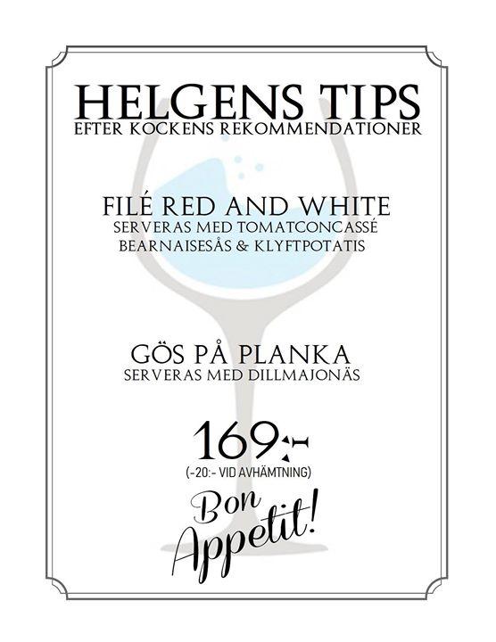 Helgens Tips 14 15 16 september