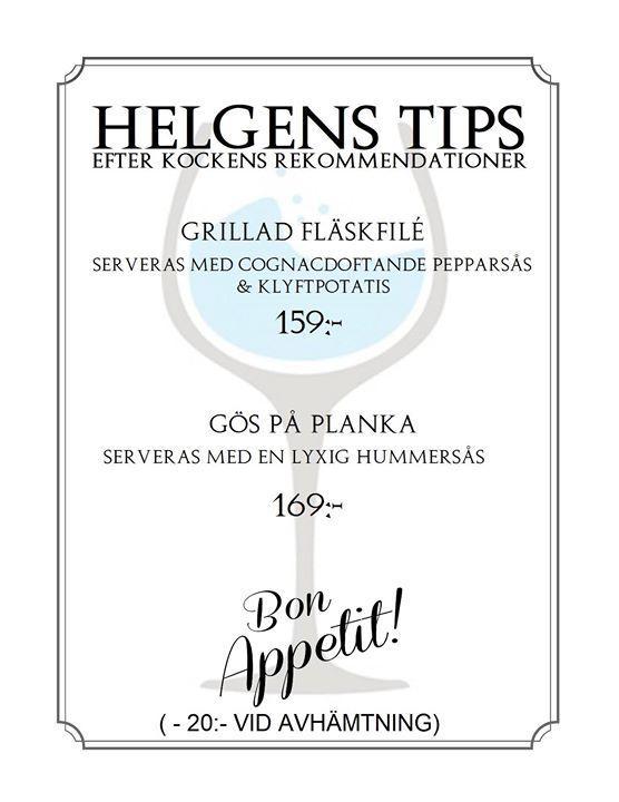 Helgens Tips 24-25-26 Augusti