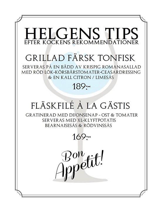 Helgens Tips 10-11-12 augusti