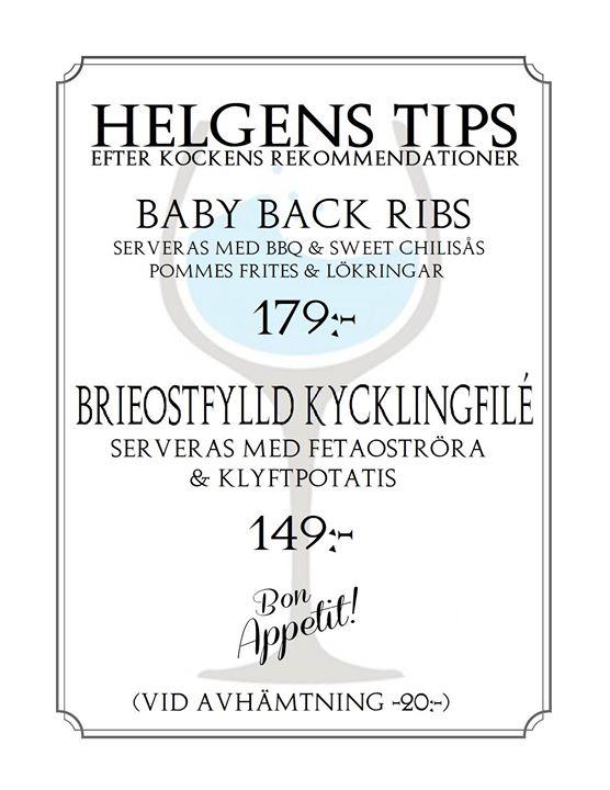 Helgens Tips 6-7-8 Juli