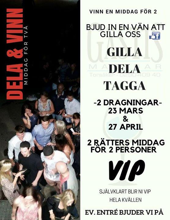 Drygt 350 personer blev taggade inför dragningen den 23 mars. Vinnaren blev Tessa Stjernström.…