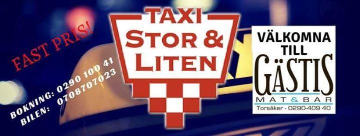 Ta dig hit och hem tryggt med Åke på Taxi Stor&Liten imorgon lördag. Vi…