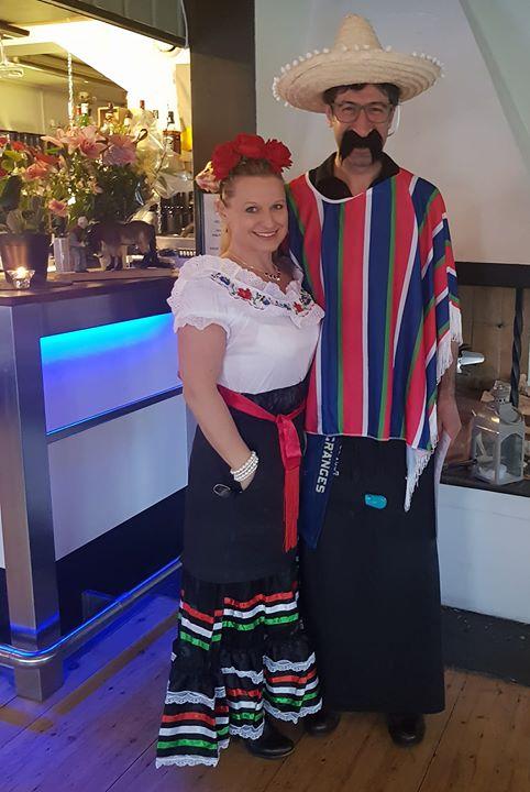 PRO har mexicanskafton ikväll och personalen är med på noterna Tack för bilden Moa…