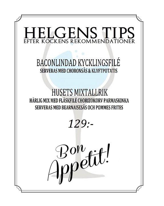 Helgens Tips 16-17-18 mars :)