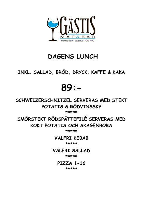 Välkommen och avnjut en härlig lunch i skenet från braskaminen