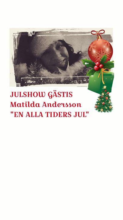 Lördag 16 december !! Boka bord hos oss! 0290-40940. Sista chansen, ett fåtal biljetter…