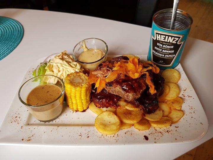 Countrybilly train dinner!! Den ena av vårt helg tips mums !