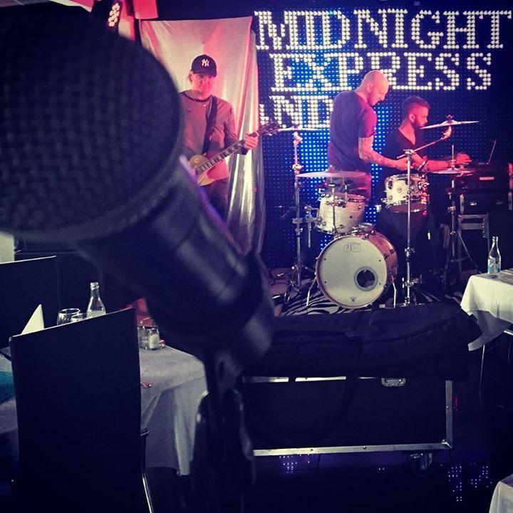"""Soundcheck """"Midnight Express"""". Ikväll är det party"""