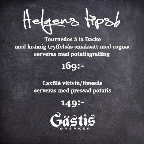 Helgens Tips!